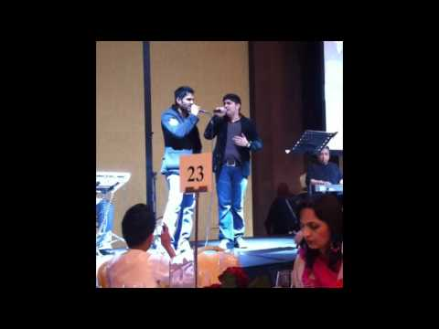 Amanat Ali Khan and Sunil Shetty Live on StageTum Dil Ki Dharkan...