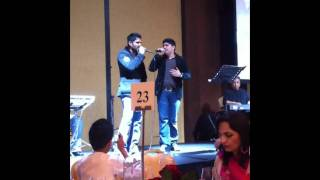 Amanat Ali Khan and Sunil Shetty Live on Stage