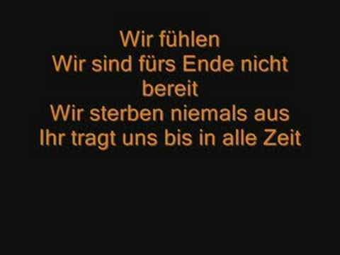 Tokio Hotel - Wir Sterben Niemals Aus