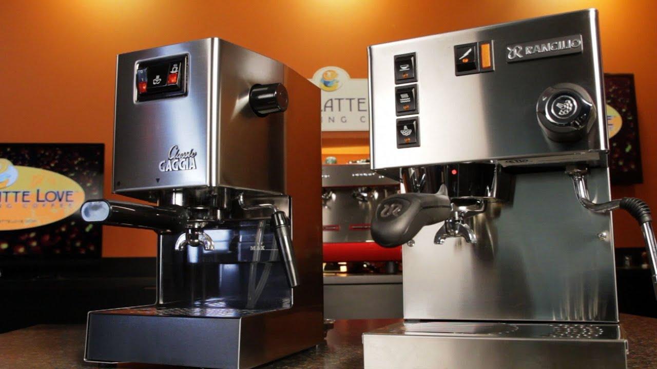 espresso machine comparisons