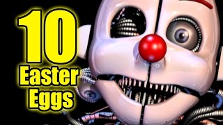 TOP: 10 Easter Eggs OCULTOS En FNAF Sister Location
