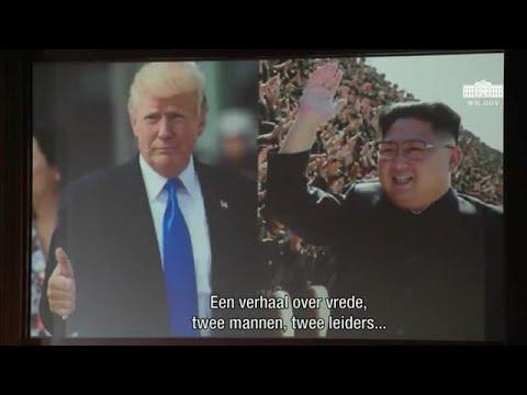 Deze video liet Trump zien aan Kim - RTL Z NIEUWS
