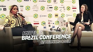 Ouça Anitta na Brazil Conference at Harvard & MIT