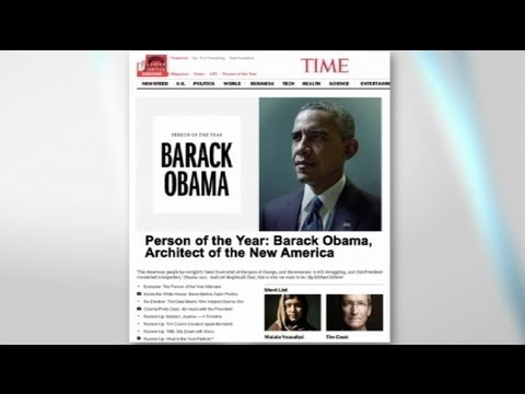 Obama named Time magazine's Person of 2012