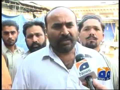 Karachi Pashtuns Empress Market Burned by MQM in March 2011