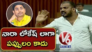 Minister Anil Kumar Yadav Comments On Nara Lokesh | AP Assembly | V6 News