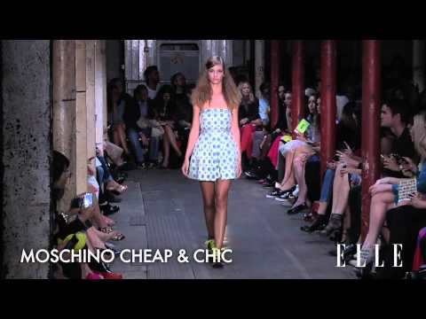 Moschino Cheap & Chic SS2013 LONDON collection