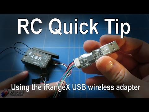 RC Quick Tips: Using the iRangeX USB wireless adapter