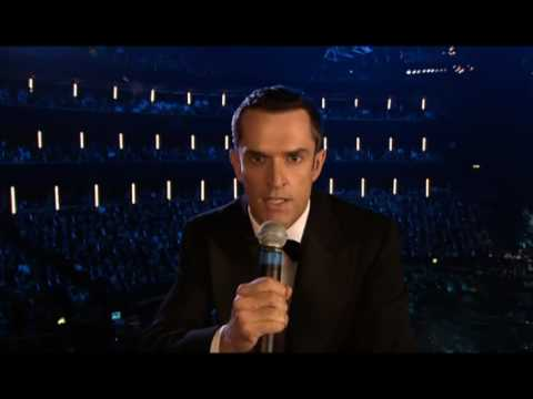 Robbie Williams Live at The Albert Hall. Dir: Hamish Hamilton