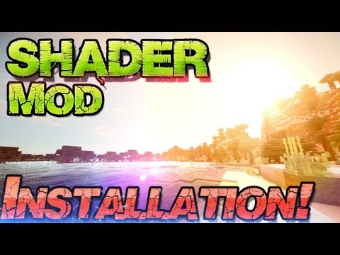 GLSL Shader Mod 1.6.4 Minecraft - Schatten + Wasserreflektionen - German Mac Win Sonic Ethers SEUS