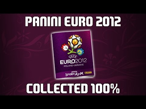 REVIEW ⚽️ Panini UEFA Euro 2012 ⚽️ Official sticker album [COMPLETE 100%]