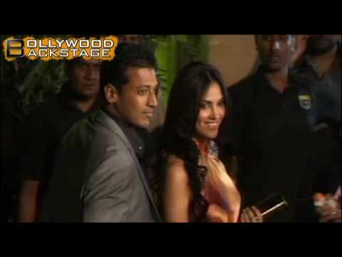 Lara & Boyfriend Mahesh Bhupathi at Filmfare Awards 2010