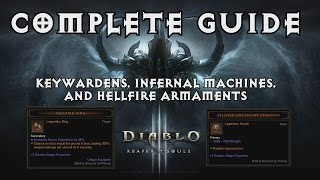 how to use infernal machine