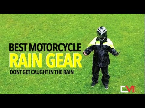 MOTORCYCLE RAIN GEAR REVIEW