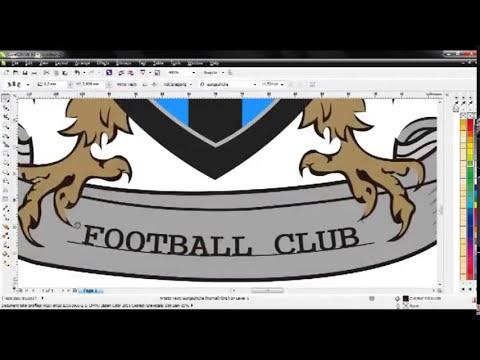 Tutorial Membuat Logo Futsal dengan CorelDraw