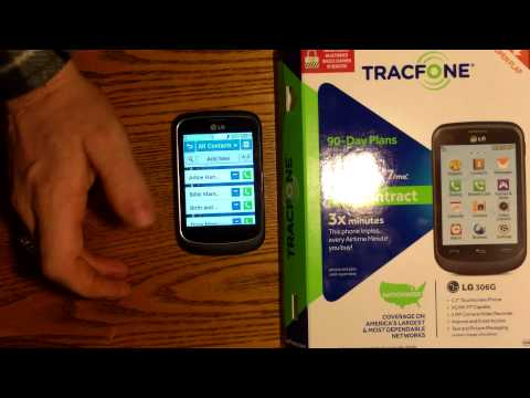 LG 306G Tracfone Cell Phone Review