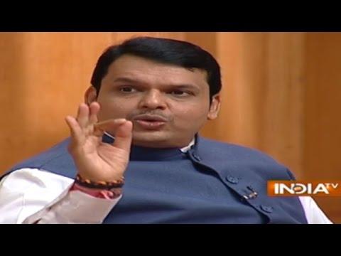 Maharashtra CM Devendra Fadnavis in Aap Ki Adalat (Full Episode) - India TV