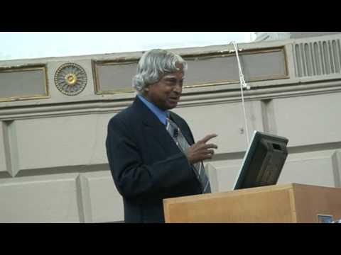 Dr Apj Abdul Kalam Speech At Trintiy College Dublin, Ireland. Part 5 7 video