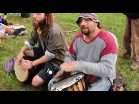 2014 Solstice Festival - aka Om Reunion Project - The Djembe Brothers