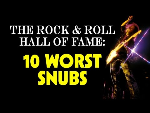 The Rock And Roll Hall Of Fame: 10 Worst Snubs video