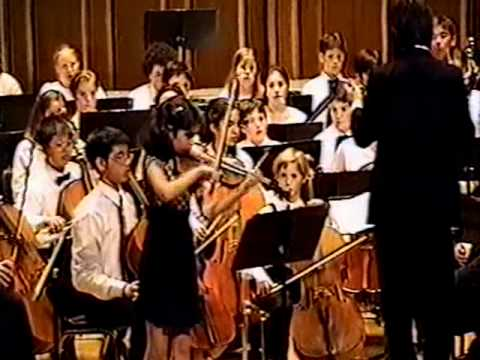 Jordan Hall, New England Conservatory, 1997 (age 12) Video