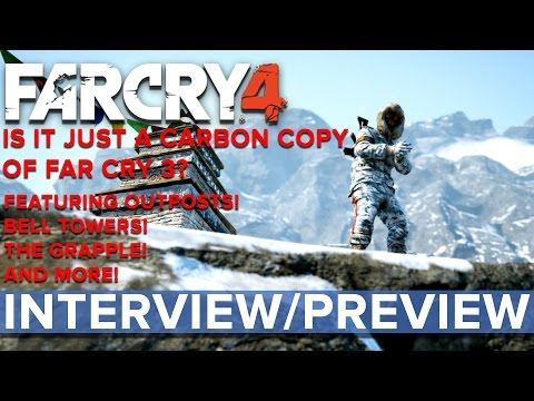 Far Cry 4 - Is it just a carbon copy of Far Cry 3? - Eurogamer Interview/Preview