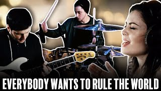 'Everybody Wants To Rule The World' Cover - Luke Holland ft. The Evening
