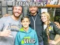 Roman Reigns WWE Raw VLOG(Behind the Scenes)