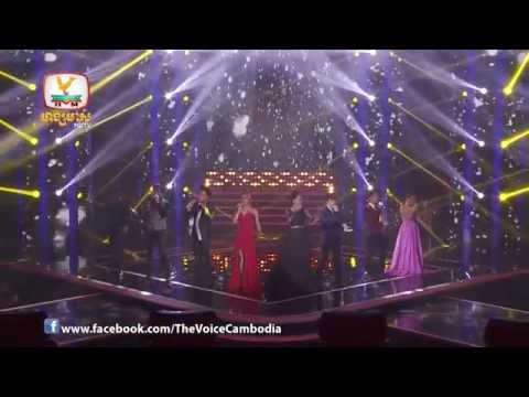 The Voice Cambodia-Final -Roy Lean Song Khoem - All Coaches Ft All Stars-16 Nov 2014