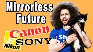 The Future Of NIKON & CANON's Pro Mirrorless Cameras (vs SONY)