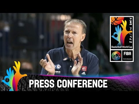 France v Spain - Post Game Press Conference - 2014 FIBA Basketball World Cup