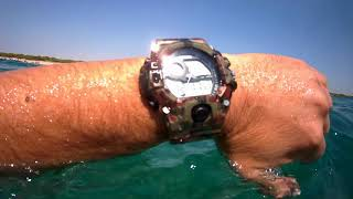 Skmei 1019 i Men's Military Camouflage Date Chronograph-Underwater test- TCSK1029