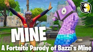 "♫ ""Mine"" - A Fortnite Parody of Bazzi's Mine (Music Video)"