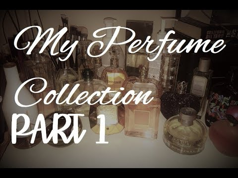 My Precious Perfume Collection Part 1: (Funny)