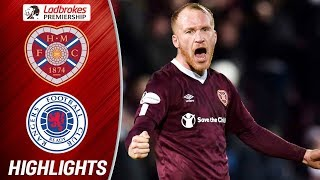 Hearts 2-1 Rangers | Liam Boyce's Debut Goal Steals the Game from Rangers | Ladbrokes Premiership