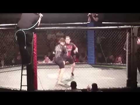 Veronica Macedo vs Chrissy Audin, MMA headkick KO