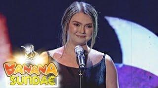 Banana Sundae: Angelica Panganiban's Spoken Word