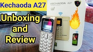 Kechaoda A27 Unboxing and Full Review   Another Small Beauty From Kechaoda   Rs 800