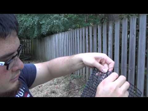 How to Build a Crayfish Trap for Under $5 - Part 2 - Assembling the Trap