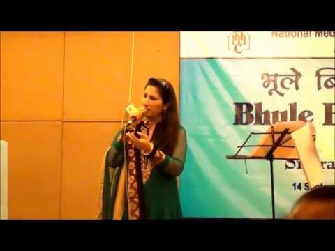 Singer Simrat Chhabra performing Mausam Hai Aashiqana from the...