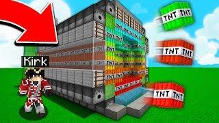LE PLUS GROS CANON DE MINECRAFT ! | TNT WARS !