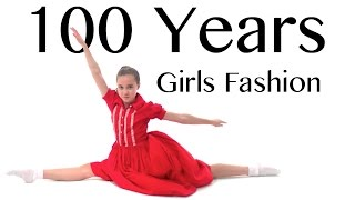 100 Years of Girls Fashion ? Lammily ? Music by Edvin Marton