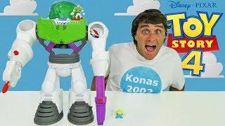 Imaginext Toy Story 4 Buzz Lightyear Robot ! || Toy Review || Konas2002