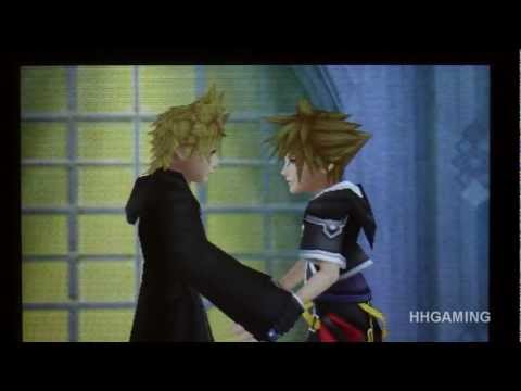 Kingdom Hearts 3D - Xion & Roxas ending English walkthrough part 57 HD KH3D Dream Drop Distance KH3