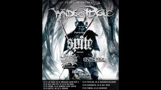 Winds Of Plague '10 Years Of Decimation Tour' w/ Entheos and The Mirage Theory