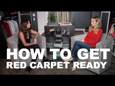 Dishing Red Carpet with Catt Sadler!