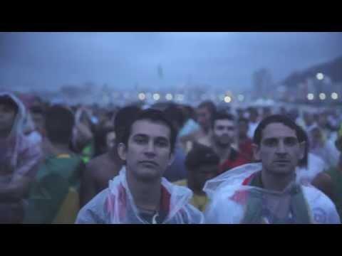 Semifinal World Cup 2014. Brazil-Germany 1-7. At Copacabana, Rio De Janeiro