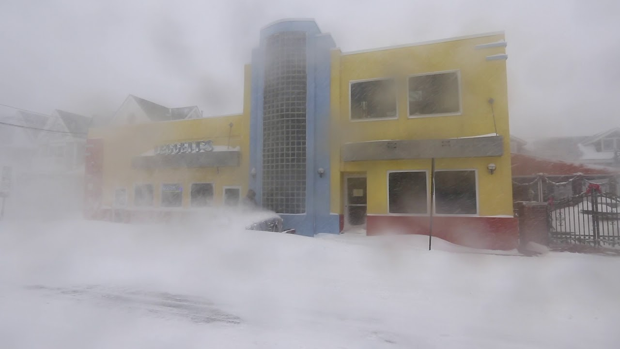Blizzard hits Jersey Shore