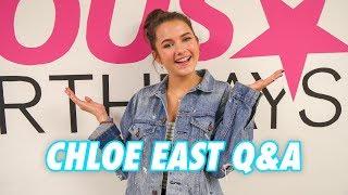 CHLOE EAST Q&A