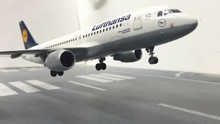 Revell Airbus A320 Lufthansa assembly